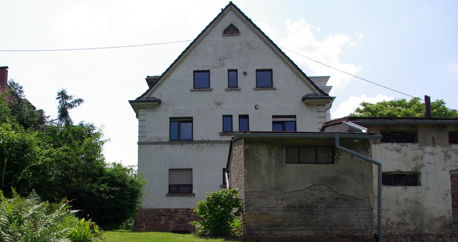 Haus vorher